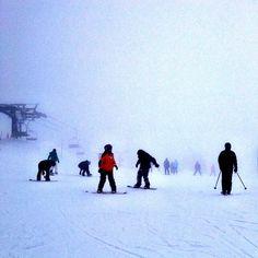 Really #foggy at #okemo