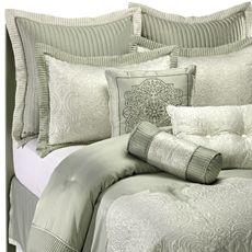 Vienna Sage Comforter Set- plus some colored pillows $129.99