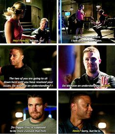 "#Arrow 4x03 ""Restoration"" - Oliver, Felicity & Diggle"