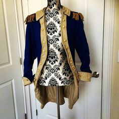 New rococo military jacket. Get yours today.
