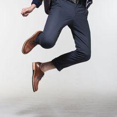 Derbies Alpha Low - Camel Camel, Pants, Shoes, Fashion, Leather Heels, Natural Leather, Trouser Pants, Moda, Zapatos