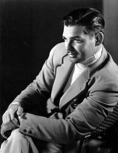 Clark Gable in his 1946 Lincoln Continental *M.W.*