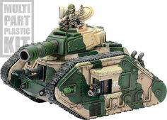 Warhammer 40k - Imperial Guard - Leman Russ Battle Tank - Armor Value 14? Yes please!