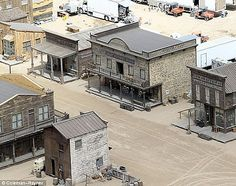 western movie set | The Lone Ranger Western Town Set Photos - MovieWeb.com