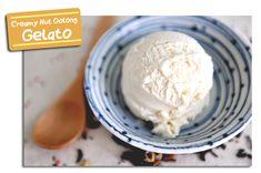 Creamy Nut Oolong Tea Gelato