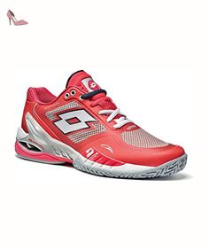 LOTTO RAPTOR EVO CLAY ROUGE WOMAN - Chaussures lotto (*Partner-Link)