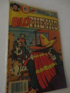 Vintage Charlton Comics Group Billy the Kid comic book Vol 13 No 141 April 1981 Find me at www.dandeepop.com