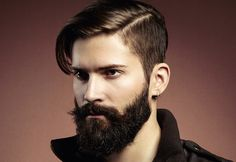 undercut glasses beard - Google Search