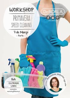 Organizar com Ligia Noia: Workshop Primavera_Speed Cleaning no Porto