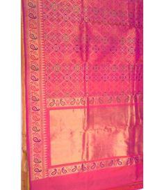 Pink Patan Patola Banarasi Saree
