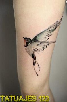 tatuaje realista pajaro - Buscar con Google