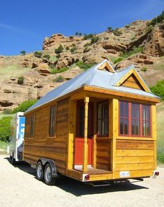 Living well in 100 square feet!