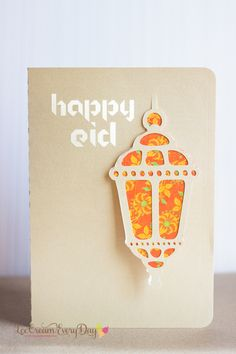A Crafty Arab: 99 Creative Eid Projects. I've put together a free Eid printable and cutting file pack that includes designs for giftwrap, gift tags and a greeting card with cut-out detail. Ramadan Cards, Ramadan Gifts, Diy Eid Cards, Eid Greeting Cards, Happy Eid Mubarak, Ramadan Mubarak, Eid Party, Iftar Party, Eid Crafts