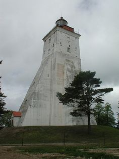 The Kopu lighthouse. Third oldest lighthouse still operational. Built in 1531