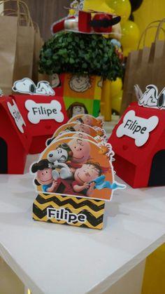 Embalagem para chocolate personalizado Snoopy