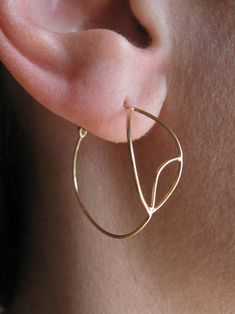 6372e0812 Sharon Z Jewelry · gold evil eye earrings | recycled gold | 14k yellow gold  | 14k rose gold