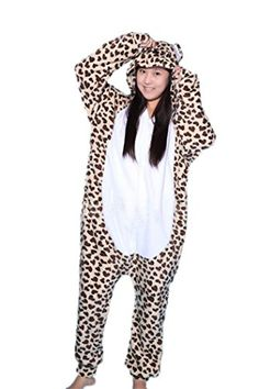 Introducing WOTOGOLD Aniaml Cosplay Costumes Leopard Bear Men Women Pajamas Leopard S. Get Your Ladies Products Here and follow us for more updates!
