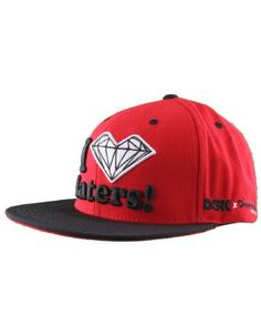 3d44be57669 DGK x Diamond Supply Co. Haters Cap   Red Black