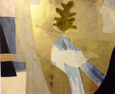 Cathrine Boman - A tale to tell, Acryl på lerret, 50 x 60 cm