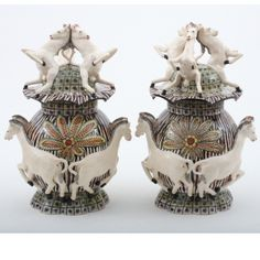 Ardmore Ceramics: Zebra Tureen Pair AAA