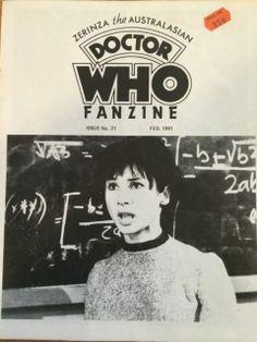 Doctor Who Zerinza Fanzine Issue 21 Feb 1981 | eBay