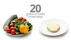 20 grams of carbs in two ways