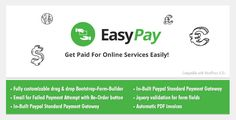 EasyPay, a faster yet safer WordPress Paypal Plugin, beneficial for Online business, eCommerce & Charity/Donation websites to take custom and online payments hassle-free.