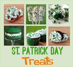 St. Patrick Day Sweet Treats & printables - including Mini Chocolate Chip Turtle Cookies (RECIPE)