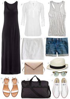 Summer essentials, by Erin