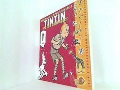 大型洋書|Tintin et les Animaux livre autocollants_画像1