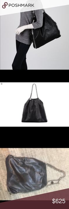 Stella McCartney Large Falabella Black Beautiful bag in great condition. Contact me with any questions or offers. Thanks! Stella McCartney Bags Shoulder Bags