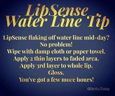 Of course LipSense® lasts all day! However, there are certain foods that you eat that may break down some of the color on your water line (the middle part of your lips). This mostly applies to foods that contain oil (salad dressings, french fries, mayo, etc.). Here's a great tip to help with that!! www.facebook.com/groups/AmysLipService