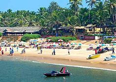 Sun kissed beaches - Goa. The shakts provide enough arsenal to make the beach stay experiance unforgettable! Have you been there yet?