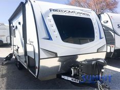 New 2021 Coachmen RV Freedom Express Ultra Lite 192RBS Travel Trailer at Summit RV | Ashland, KY | #8364 Rv Led Lights, Ultra Lite Travel Trailers, Shower Sizes, Coachmen Rv, Double Door Refrigerator, Electric Awning, Camping Chairs, Led Light Strips, Double Doors