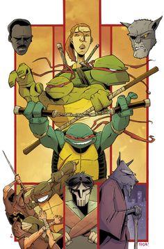 Rob Guillory on Ninja Turtles?