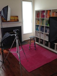 Alejandra's filming studio for her YT channel where she gives the best tips on home organizing: www.youtube.com/homeorganizing