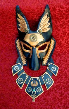 Industrial Anubis With Collar by merimask on deviantART