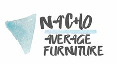 Na'cho Average Furniture Refab Reclaimed Logo Design Concepts