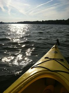 Kayaking is wonderful. Can't wait to do it again.