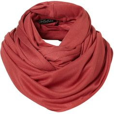 Cranberry Grunge Jersey Snood.    Oh the possibilities of this!! Great color too