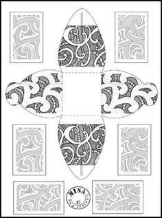 Maori Gift Box to Colour Maori Legends, Waitangi Day, Maori Words, Maori Symbols, Maori Patterns, International Craft, Maori Designs, Jr Art, Art Worksheets