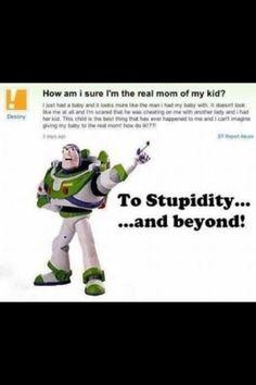 Plain stupidity!!