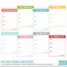 Scrapbooking TammyTags -- TT - Designer - Miss Tiina, TT - Item - Journal Space or Mat, TT - Style - Journal Card