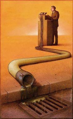 Ilustraciones Irónicas de Pawel Kuczynski