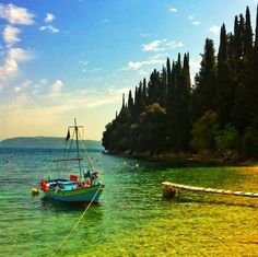 Corfu's vision Corfu, Sailing Ships, Boat, Pictures, Photos, Places, Summer, Travel, Vintage