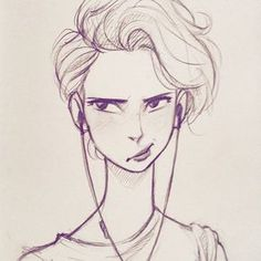 Sketching at lunch #art #sketch #doodle #drawing #illustration #cameronmarkart