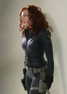 Super Hero Scarlett Johansson, Black Widow, Natasha Romanoff, Iron Man, Avengers, Black, Scarlette Johanson, The Avengers