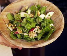 Rezept: Feldsalat mit Apfel und Käse