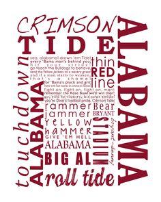 craft idea but with UK instead Alabama Baby, Alabama Crimson Tide, Crimson Tide Football, Alabama Football, Alabama Shirts, Nick Saban, University Of Alabama, Alma Mater, Roll Tide