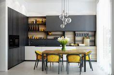 Современная кухня в частном доме - ALNO. Современные кухни: дизайн и эргономика | PINWIN - конкурсы для архитекторов, дизайнеров, декораторов: